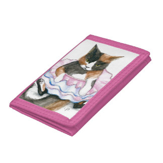 Cat In a Tutu Wallet