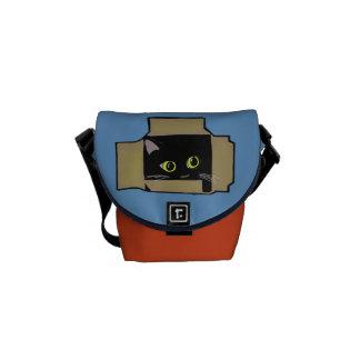 Cat in Box Commuter Bags