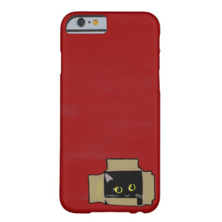 Cat in Box iPhone/iPad/Samsung etc. feat. Barely There iPhone 6 Case