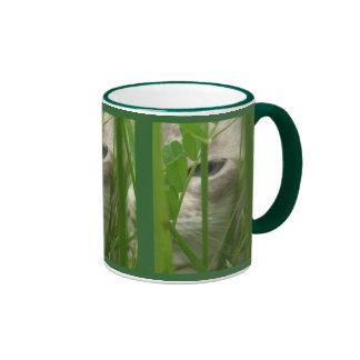 Cat in Grass Mugs