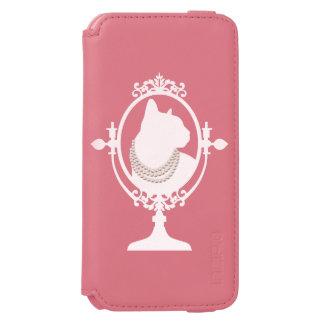 Cat in mirror incipio watson™ iPhone 6 wallet case