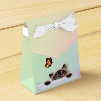 Cat in Pocket Favour Box