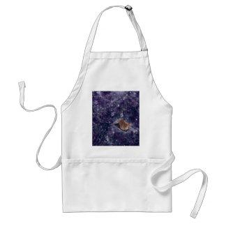 Cat In Space Purple Galaxy Standard Apron