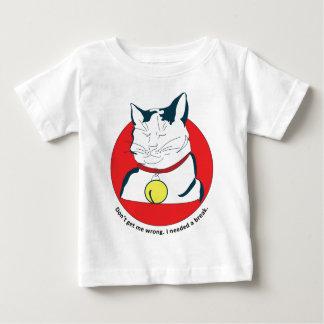 cat in the break t-shirt