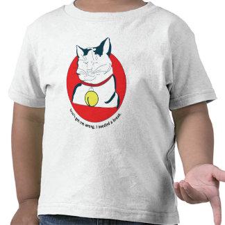 cat in the break t shirt