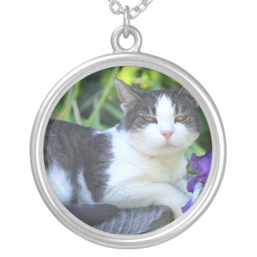 Cat in the garden jewelry