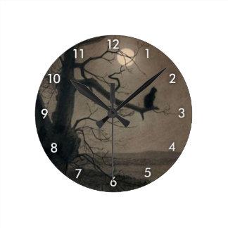 Catin theMoonlight, , Alexandre Steinlen Wall Clocks