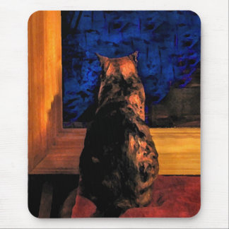 Cat in the Window Mouse Mat
