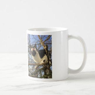 cat in tree coffee mug