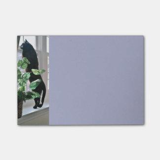 Cat in Window Post-it® Notes 4 x 3