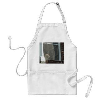 Cat in Window Standard Apron
