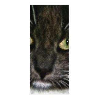 Cat 10 Cm X 24 Cm Invitation Card