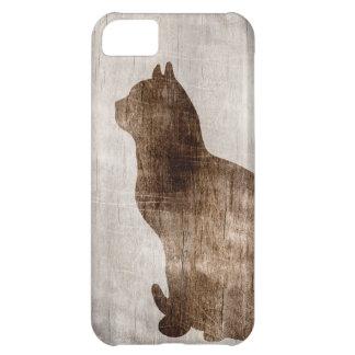 Cat iPhone 5c case wood iPhone 5c case