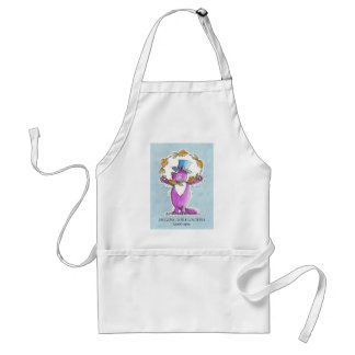 Cat Juggling with Goldfish Standard Apron