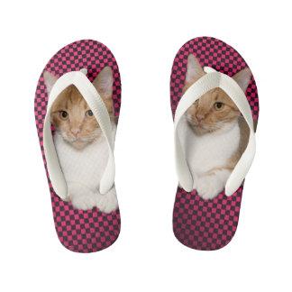 CAT KID'S FLIP FLOPS