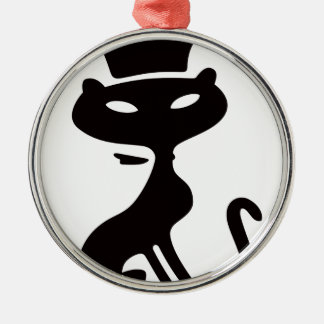 Cat King Christmas Ornament