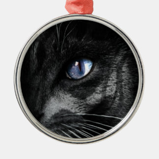 Cat Kitten Eye Stare Look Animal Christmas Ornament