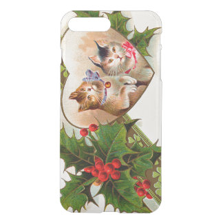Cat Kitten Heart Shamrock Holly iPhone 7 Plus Case