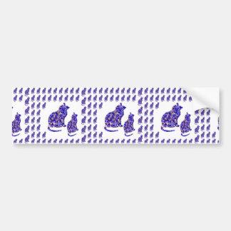Cat Kittens KIDS Love Template Greetings Gifts FUN Bumper Stickers