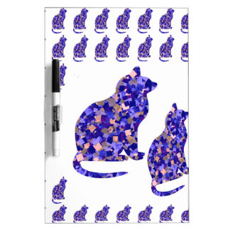 Cat Kittens KIDS Love Template Greetings Gifts FUN Dry-Erase Whiteboards