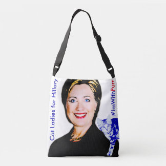 Cat Ladies for Hillary All Over Image Tote