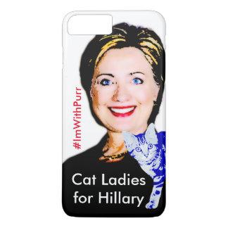 Cat Ladies for Hillary iPhone 7 Plus Case