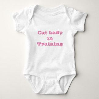 Cat Lady in Training Baby Bodysuit