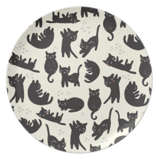 Cat Lady Plate
