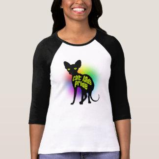 Cat Lady Pride Baseball Shirt