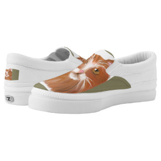 Cat lady shoe design by bbillips printed shoes