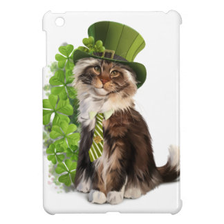 Cat-leprechaun Cover For The iPad Mini