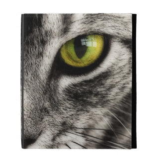 Cat Lick iPad Folio Covers