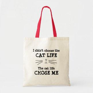 """""""CAT LIFE"""" Tote Bag"""