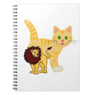 Cat & Lion Notebooks