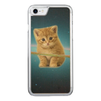 Cat lost in space carved iPhone 8/7 case