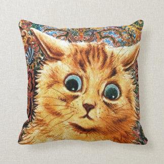 Cat, Louis Wain Cushion