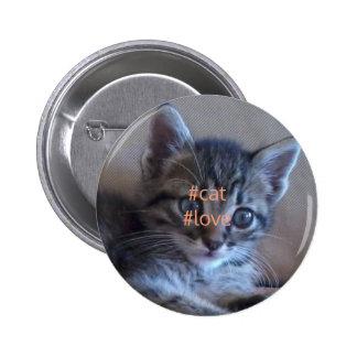 Cat love badge