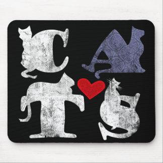 Cat Love Mousepad