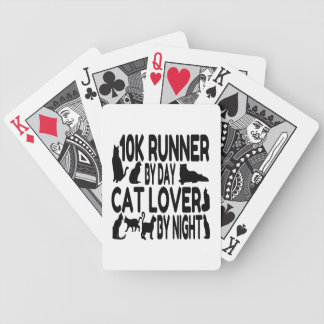 Cat Lover 10K Runner Bicycle Playing Cards