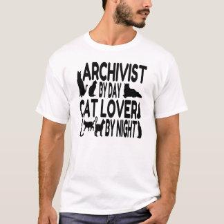 Cat Lover Archivist T-Shirt