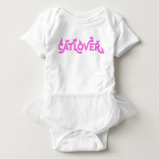 Cat Lover Baby Tutu Baby Bodysuit