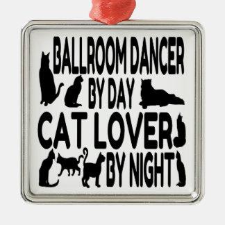Cat Lover Ballroom Dancer Christmas Ornament