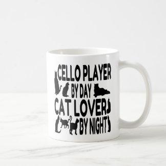Cat Lover Cello Player Coffee Mug