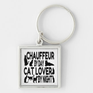 Cat Lover Chauffeur Key Ring