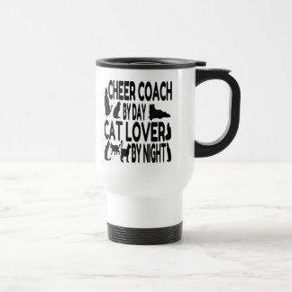 Cat Lover Cheer Coach Stainless Steel Travel Mug