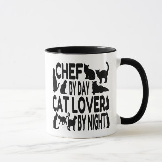 Cat Lover Chef Mug