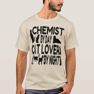 Cat Lover Chemist T-Shirt