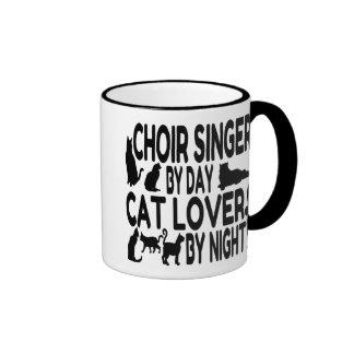 Cat Lover Choir Singer Ringer Mug