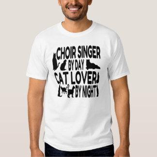 Cat Lover Choir Singer T-Shirt