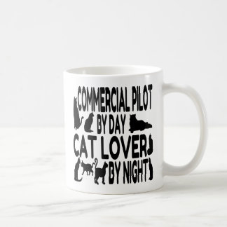 Cat Lover Commercial Pilot Coffee Mug